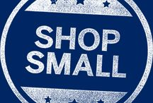 Support small business / Small businesses are the backbone of many a local economy, so today remember to shop small!