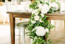 Kwiaty - bieżnik z kwiatów