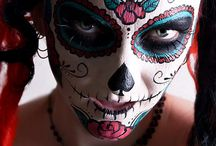 Halloween makeup / by Lisa Cooley