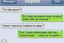 Messages drole
