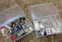 "Organizing CamperVan / Tricks and hacks to organize ""stuff"" in a camper van"