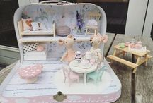 [miniatures] diorama / maison de poupées