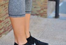 Running + Sneakers