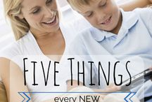 home school info. / by Stacy Pellicotte