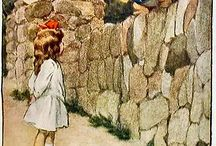 Alice in W:Bessie Pease Gutmann / Alice in wonderland (illustrator)
