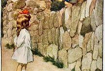 Alice in W:Art/Bessie Pease Gutmann / Alice in wonderland (illustrator)