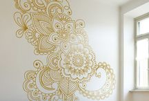 mandala en pared