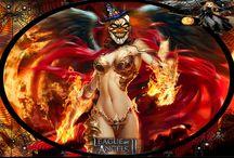 LOA / League of Angels heroes