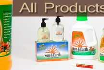 Sun and Earth Products / Products that really work well! Safe for family and pets. Healthy for the entire household.