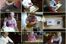 Montessori Toddler Activities / Toddler activities based on Montessori practices