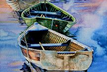 water colour boat 9