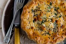 .savory pies & galettes. / Pies for dinner | pot pies recipe | hand pies | dinner pies | pot pie crust | pot pie casserole | empanadas