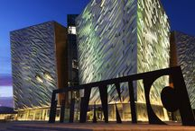 The Birthplace Of Titanic- Belfast, United Kingdom / To mark the 100th anniversary of the fateful voyage of Titanic, a Titanic Visitor's Experience and Quarter has been built on the same place, where the ship was built, Belfast Ireland. Embarking It was a bright sunny morning and also the day of my trip to witness and experience the journey of Titanic, from its birth to its tragic end. This centre was opened with much hype and it truly does live up to it. This is a must see place if you are in Dublin, Ireland