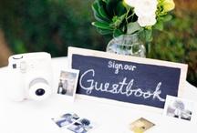 Wedding; guest book
