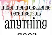 HLS December 2015 Mixed Media Challenge