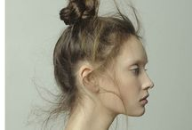 messy up do hairstyle