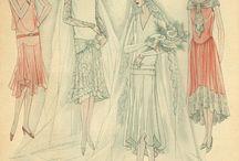 dámské oblečení 20.,30. a 40. léta