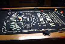 Interiors: Pool tables