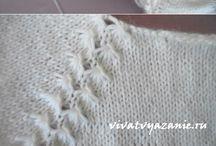 Raglan tricotat