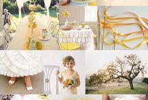 Wedding Color: Yellow