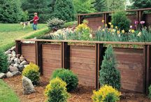 retaining wall ideas / by Mary Smith