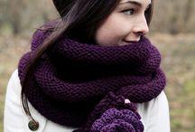 Bufandas a Crochet [Scarves]