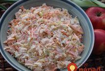 salát a pomazánka