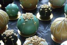 Cake balls and cake pops / by Ginger DiGalbo Katz