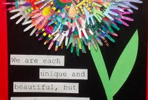 Art room art - all grades 1 - 4