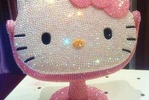 Hello kitty makeup accessories / by Kitty White