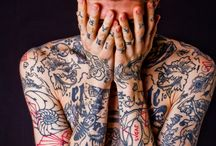 Tattooed guys / #tattoed #guys #men #women #tattoo #sexy #ripped