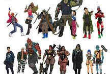 diseño personajes