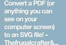 Convert to SVG