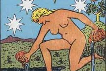 17 - The Star tarot card / Card for faith, hope and healing. Always welcome after the chaos of the Tower!