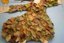 podzim výtvarka
