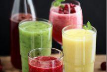 Owocowe i warzywne koktajle / Koktajle na każdą pore dnia warzywne lub owocowe