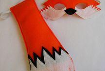 woodland animal costumes