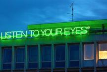 Art | Words in Neon
