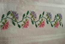 Etaminlerim / Taze etaminciden taze çalışmalar :) (Cross stitch patterns)