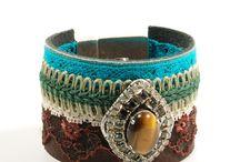 Catena bohemian bracelets / Bracelets in bohemian style, also Ibiza, gypsy, hippie style by Catena Jewelry