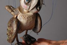 Marionetts / Had made wooden toy/puppet