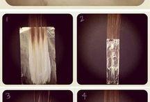 Hair, nails and makeup.