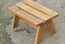 Stool / Wooden stool