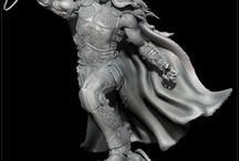 figuras fantásticas mitológicas y de ciencia ficcion