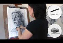 Videos:  Clara Lieu, Drawing Process