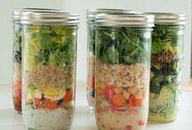 Mason Jars Lunches