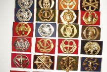 militaire emblemen/spullen