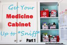 Organizing cabinets/ideas