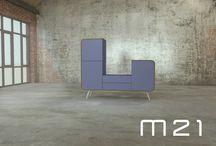 M21 / Nieuwe meubellijn ontworpen en geproduceerd door studio hans huitinck Rotterdam NL