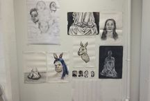 Drawing Assessment / The projects that I've done throughout the term